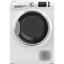 Load image into Gallery viewer, Hotpoint ActiveCare NTM1182XB 8Kg Heat Pump Tumble Dryer - White