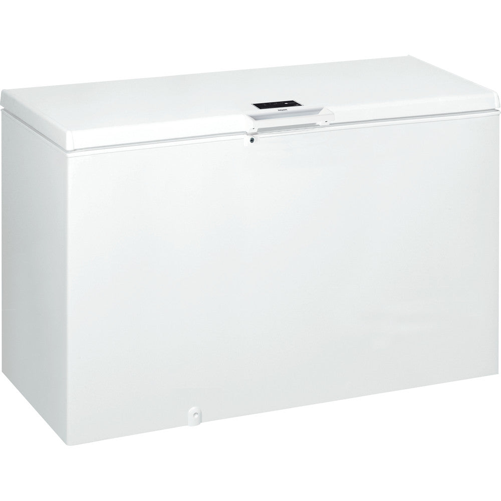 Hotpoint CS1A400HFMFA 141cm FrostAway Chest Freezer in White, 390 Litre, A+