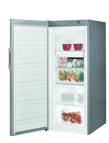 Indesit UI41S1 UK Silver 194 Litre 142cm Tall Freezer