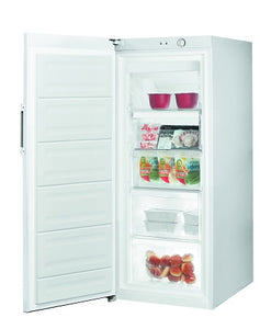 Indesit UI41W1 UK White 142cm Tall 194 Litre Freezer