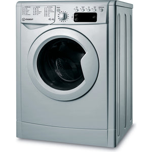 Indesit IWDD75145S Silver 7/5Kg 1400 Spin Washer Dryer