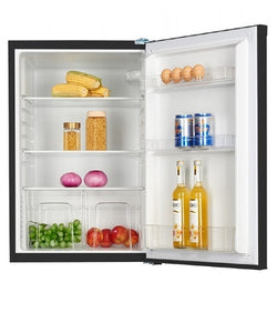 Keg KS135L Black 55cm Wide Under Counter Larder Fridge A+