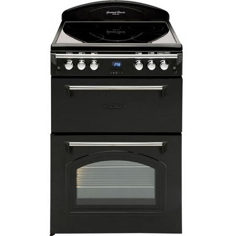 Leisure CLA60CEK Black Classic 60cm Double Oven Cooker
