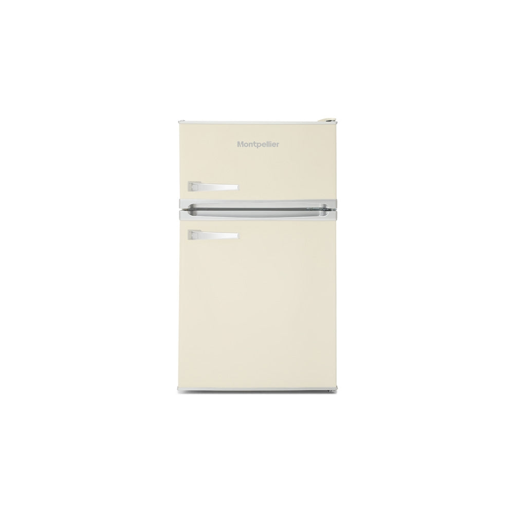 Montpellier MAB2031C Cream Retro Look Under Counter Frigde Freezer # 2 Year Guarantee
