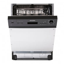 Load image into Gallery viewer, Montpellier MDI650K Black Semi Integrated Full Size Dishwasher