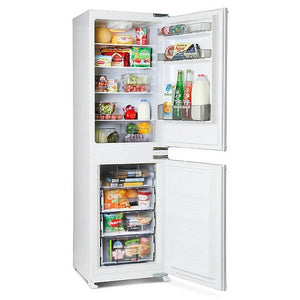 Montpellier MIFF501 Integrated Fridge Freezer.  Montpellier 5 Year Guarantee