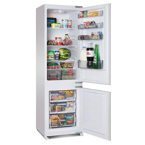 Montpellier MIFF7301F Integrated Frost Free Fridge Freezer. Montpellier 5 Year Guarantee