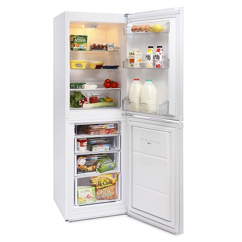 Montpellier MFF171W White 171cm Tall Fridgefreezer