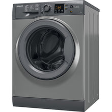 Load image into Gallery viewer, Hotpoint NSWF943CGG Graphite 9Kg 1400 Spin Washing Machine