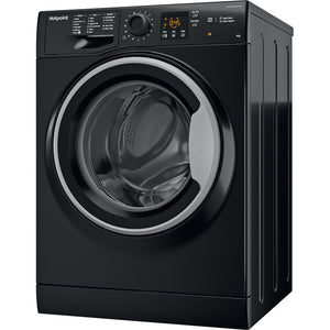 Hotpoint NSWF943CBS Black 9Kg 1400 Spin Washing Machine