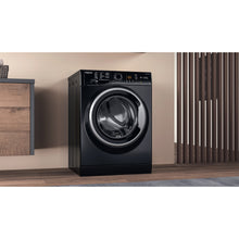 Load image into Gallery viewer, Hotpoint NSWF943CBS Black 9Kg 1400 Spin Washing Machine