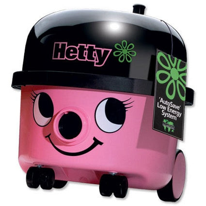 Numatic Hetty HET160 Pink Bagged Cannister Cleaner