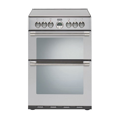 Stoves Sterling 600E Sta Stainless Steel Electric Double Oven Cooker