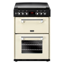 Load image into Gallery viewer, Stoves Richmond 600DF Crm Cream 60cm Dual Fuel Mini Range Cooker