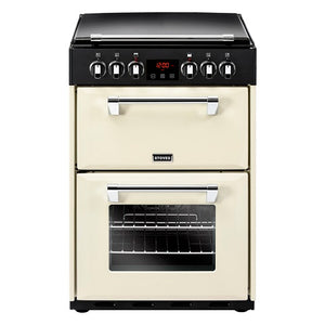 Stoves Richmond 600E Crm Cream Electric Double Oven Cooker