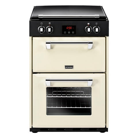 Stoves Richmond 600Ei Crm Cream Electric Double Oven Cooker