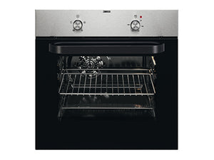 Zanussi ZZB30401XK Stainless Steel Single Fan Oven