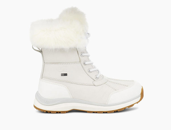 UGG Adirondack Boot III Fluff in White
