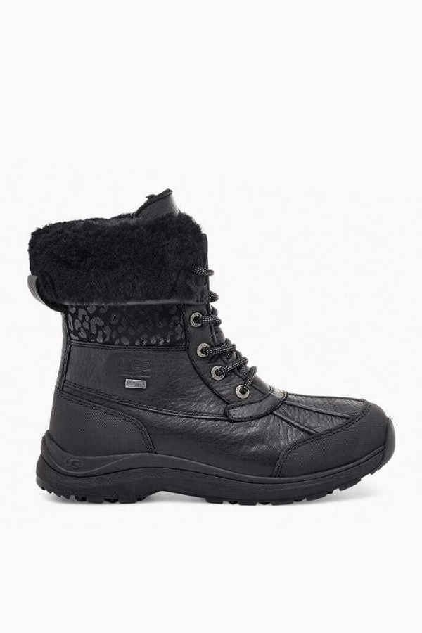 UGG Women's ADIRONDACK III Snow Leopard in Black