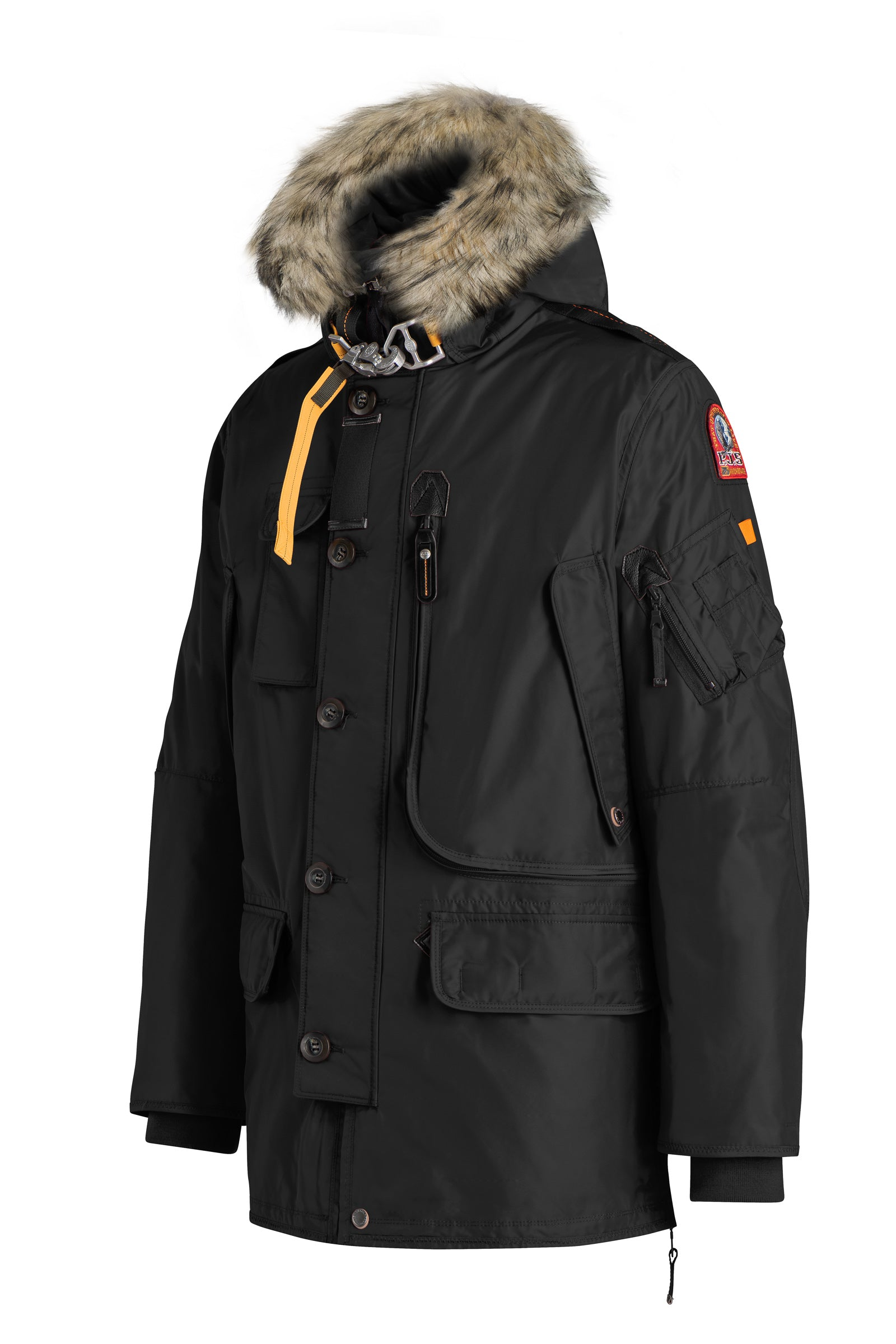 7bfd06c0c3 ... hot parajumpers kodiak parka in black 61578 0fdb1 best parajumpers  history ...