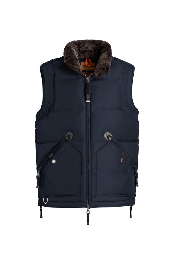 Parajumpers Men's Kobuk Vest in Navy