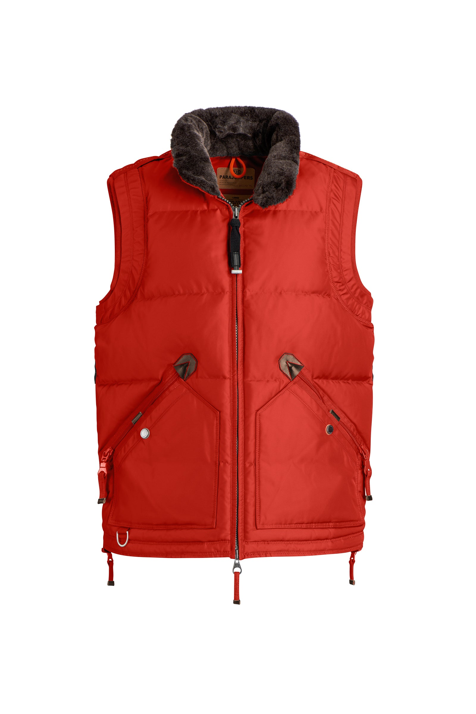 Parajumpers Kobuk Vest in Chili