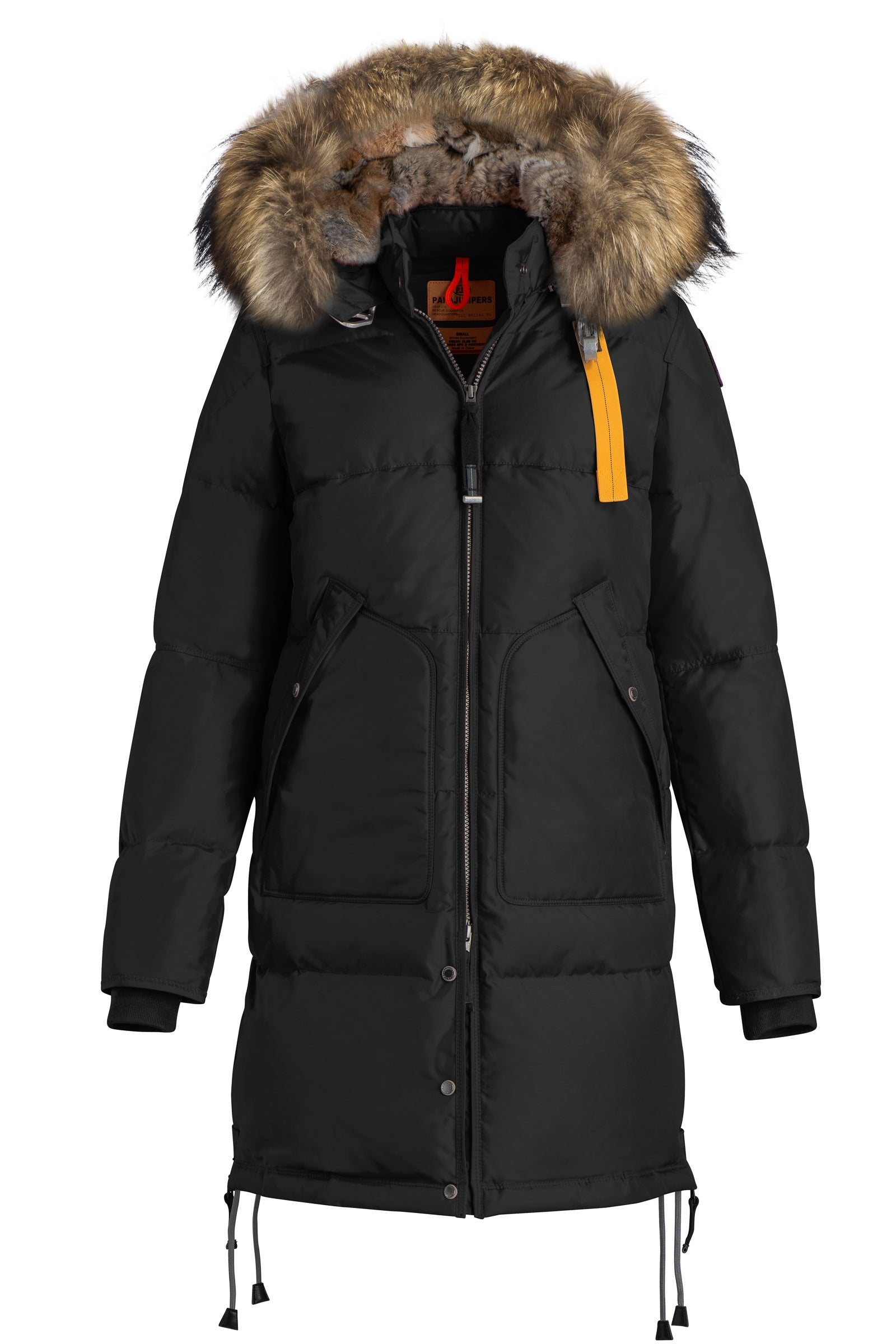 ... discount parajumpers long bear parka in black 05b4d ab17f ...