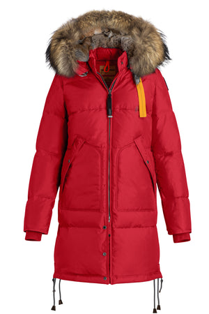 Parajumpers Long Bear Parka in Scarlet