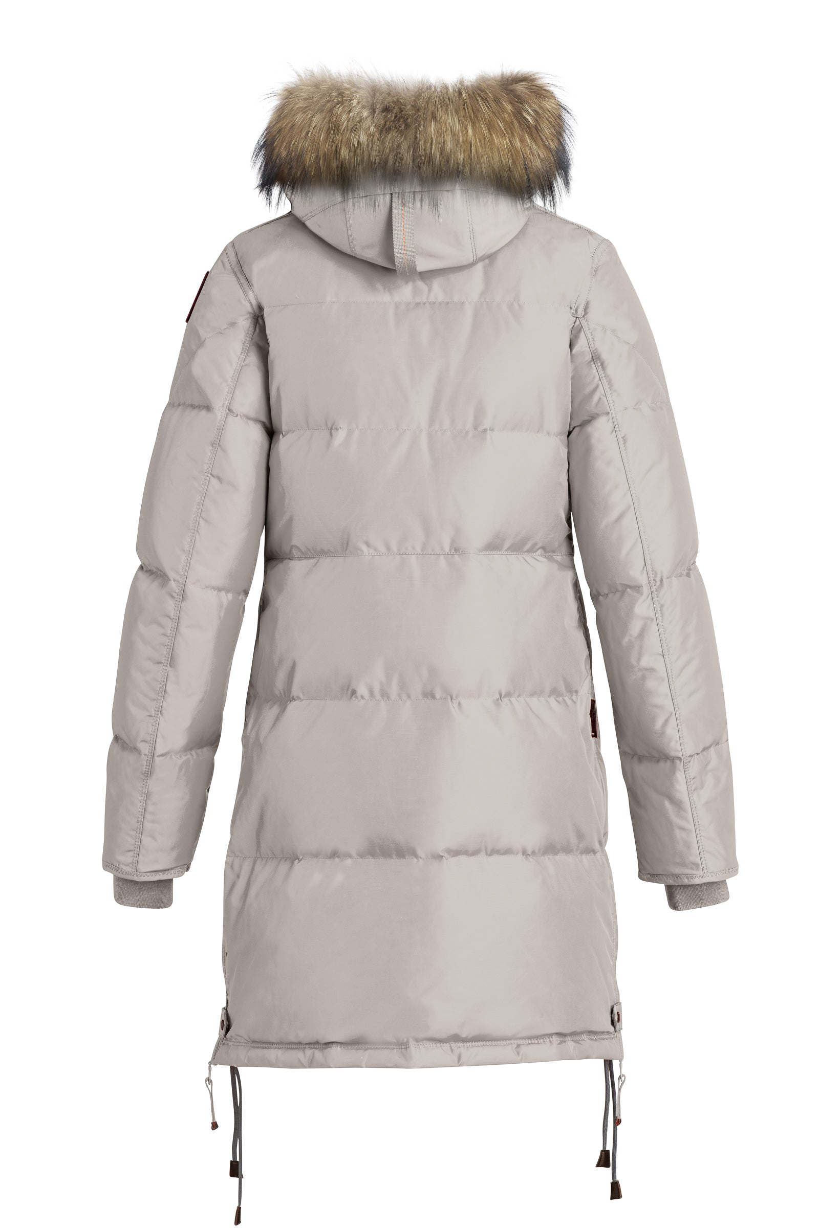 Parajumpers Long Bear Parka in Silver Grey