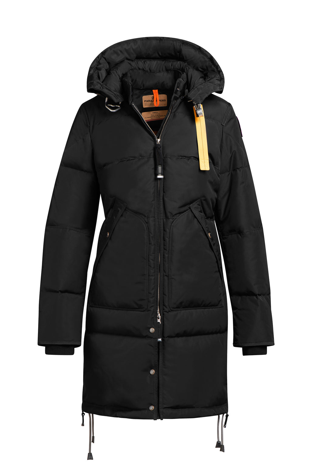 Parajumpers Long Bear Base Parka in Black