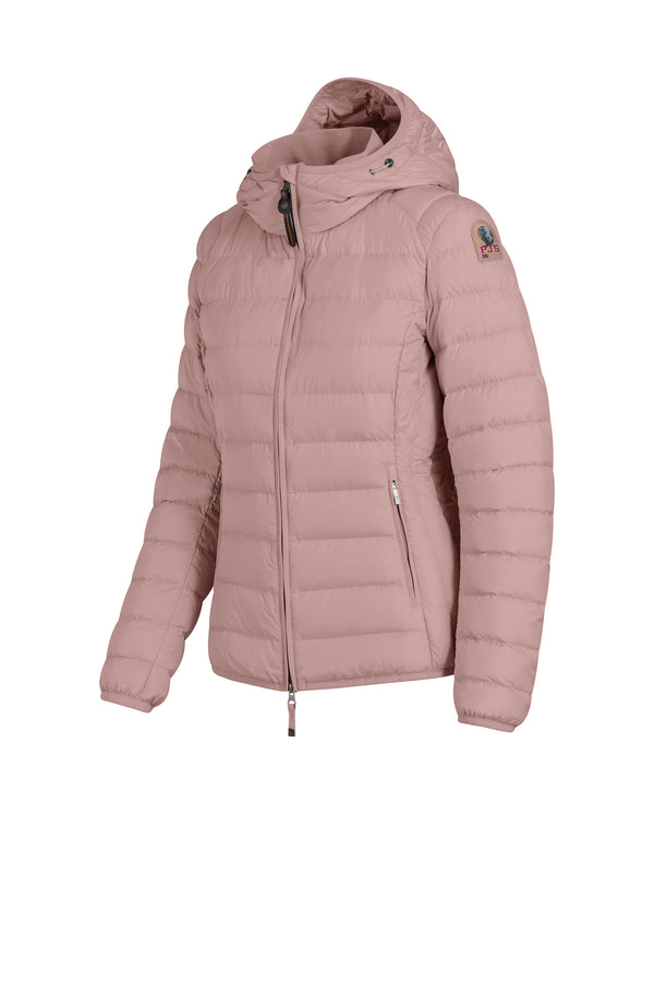 Parajumpers Women's Juliet Puffer Jacket in Powder Pink