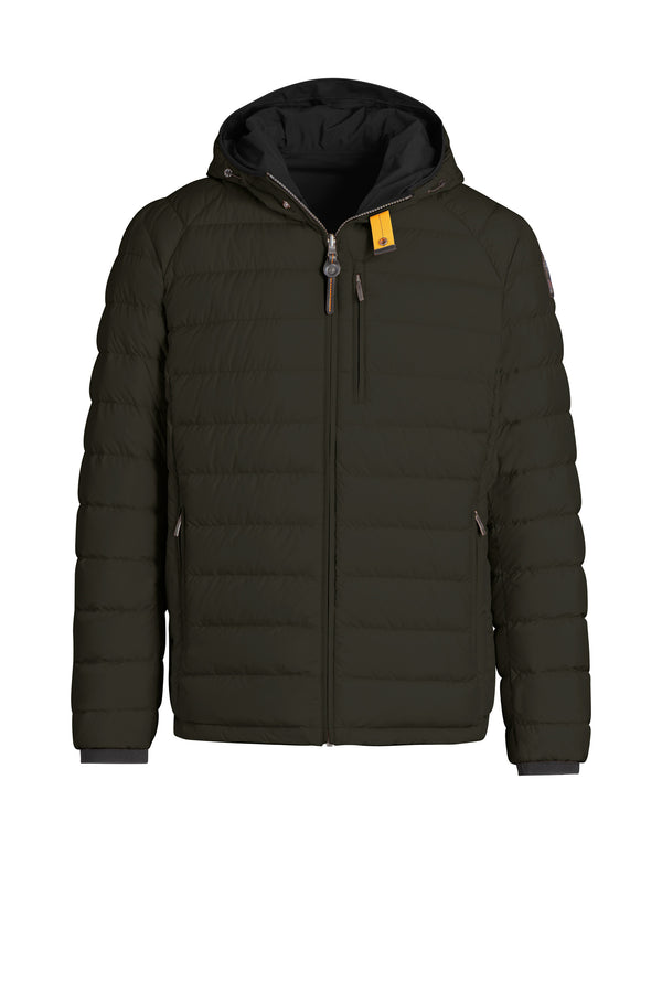 Parajumpers Men's Reversible Jacket in Sycamore/Black