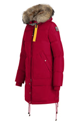 Parajumpers Women's Long Bear Parka in Scarlet