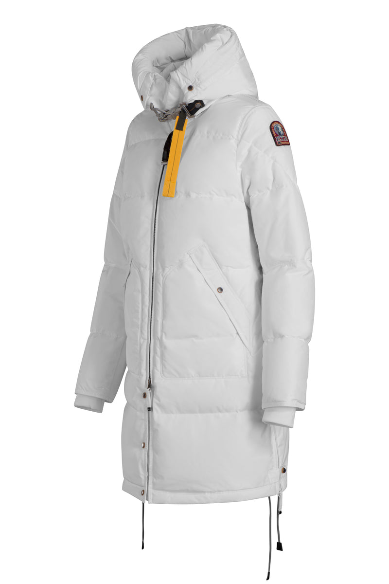 Parajumpers Women's Long Bear Base Parka in Off-White