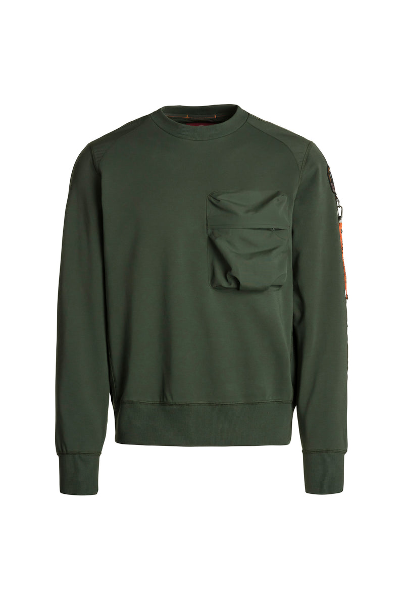 Parajumpers Men's Sabre Sweatshirt in Sycamore