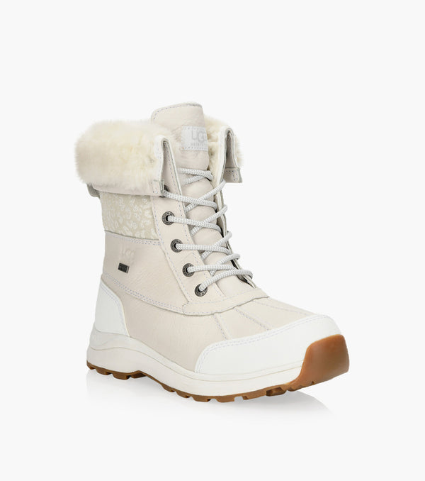 UGG Women's ADIRONDACK III Snow Leopard in White