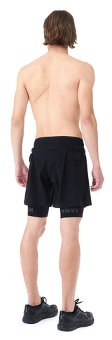 "Satisfy Justice Trail Long Distance 10"" Shorts in Black"