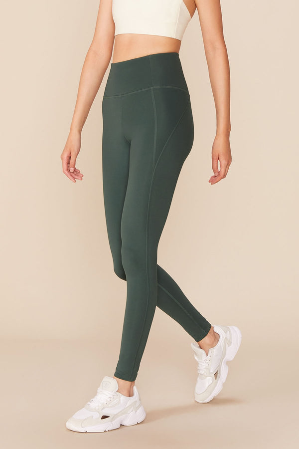 "GIRLFRIEND COLLECTIVE Compressive High-Rise Legging 28"" - Moss"