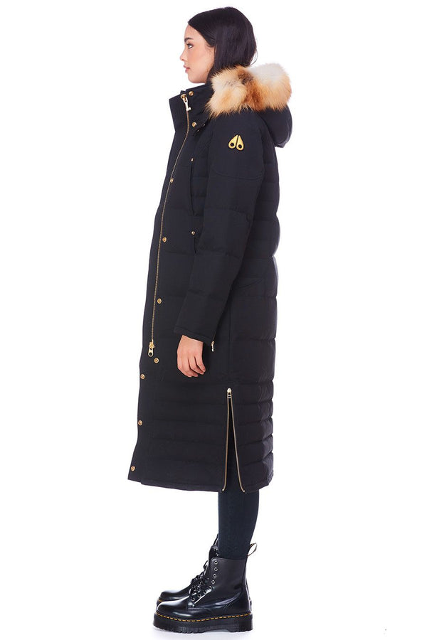 Moose Knuckles Ladies Ecool Parka in Black