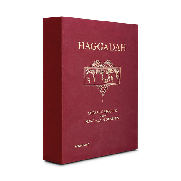 ASSOULINE Special Edition Haggadah Hardcover Book by Marc-Alain Ouaknin