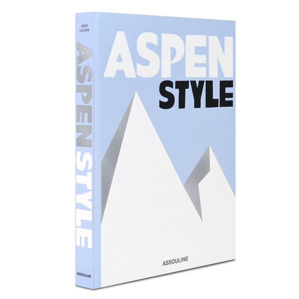ASSOULINE Aspen Style Hardcover Book by Aerin Lauder