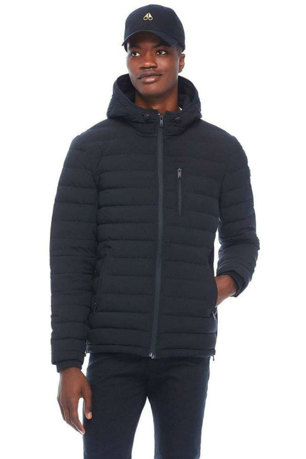 Moose Knuckles Men's Fulcrest Jacket in Black