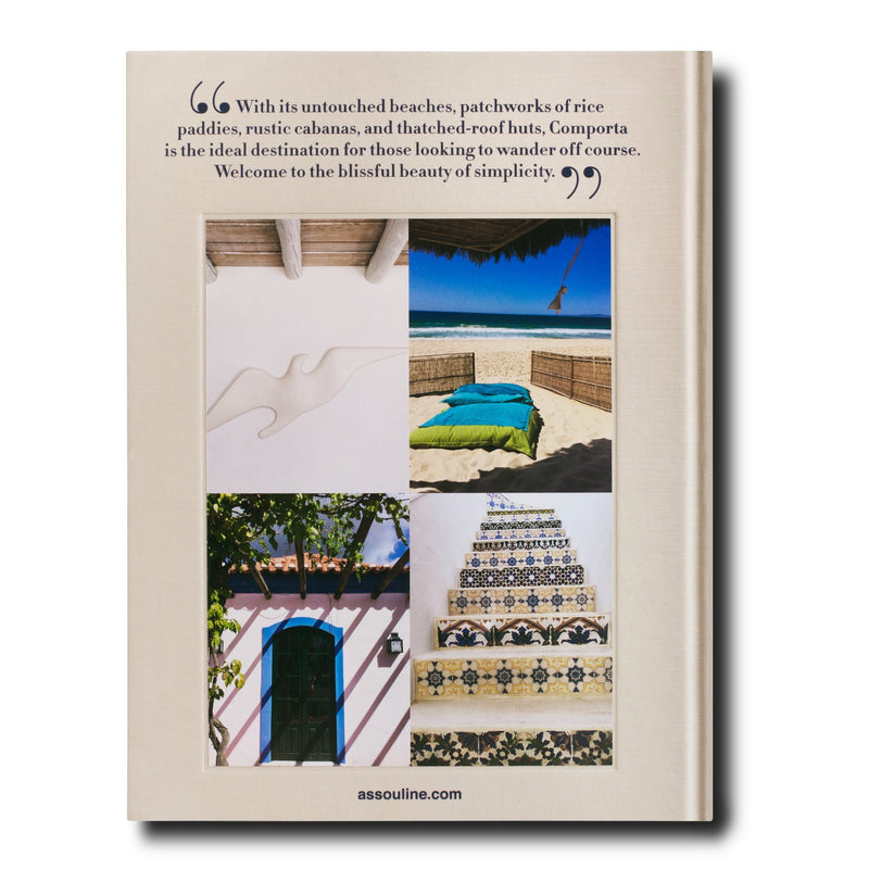 ASSOULINE Comporta Bliss Hardcover Book by Carlos Souza