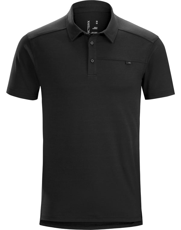 Arc'teryx Men's Captive Polo Shirt SS in Black