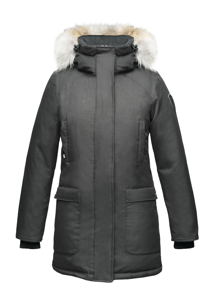 Nobis Carla Parka in Steel Grey - BOUTIQUE TAG