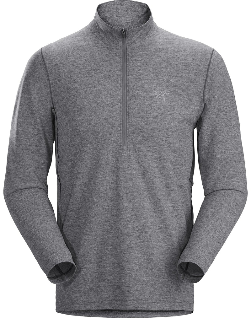 Arc'teryx Cormac Zip Neck LS Men's in Microchip