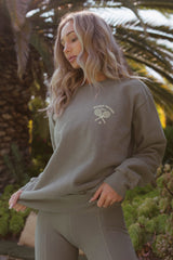 Morgan Stewart Sport Sweatshirt in Cypress