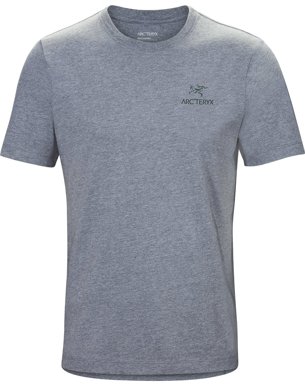 Arc'teryx Emblem T-Shirt SS Men's in Masset Heather