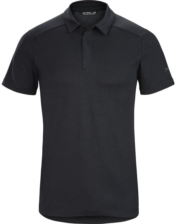 Arc'teryx Men's Eris Polo Shirt in Black