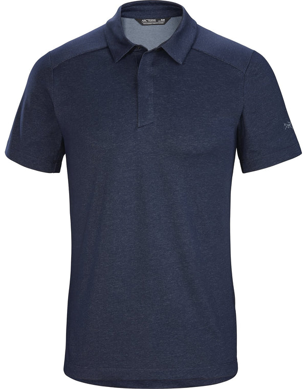 Arc'teryx Eris Polo Men's in Cobalt Moon